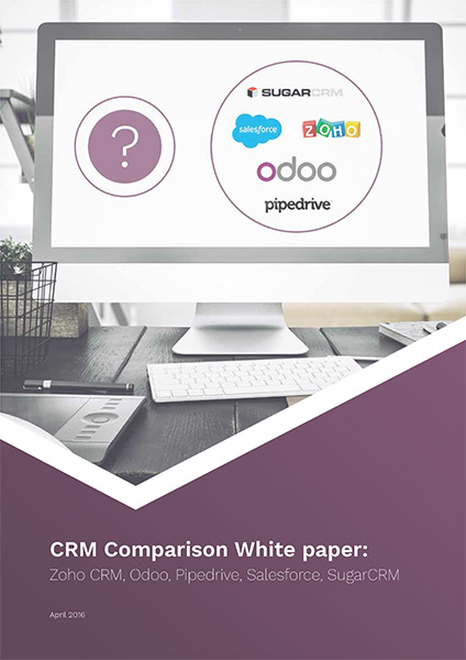 crm comparison To avoid picking a crm software because of the bells and whistles that it makes, comparing them to choose the best for your business becomes necessarysome of the distinguishing features.