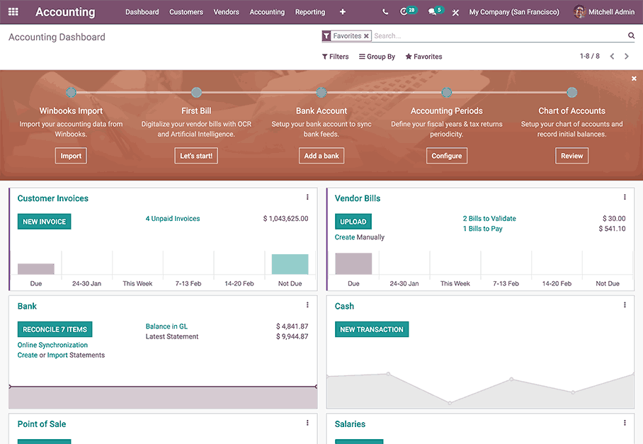 Odoo Website App Backend
