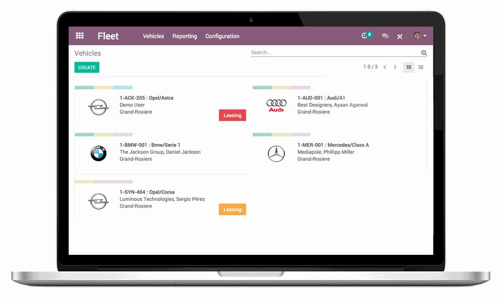 The #1 Fleet Management Software | Odoo