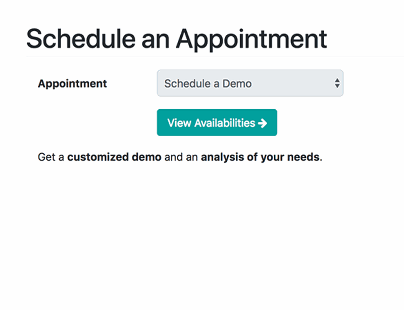 Appointments Scheduled