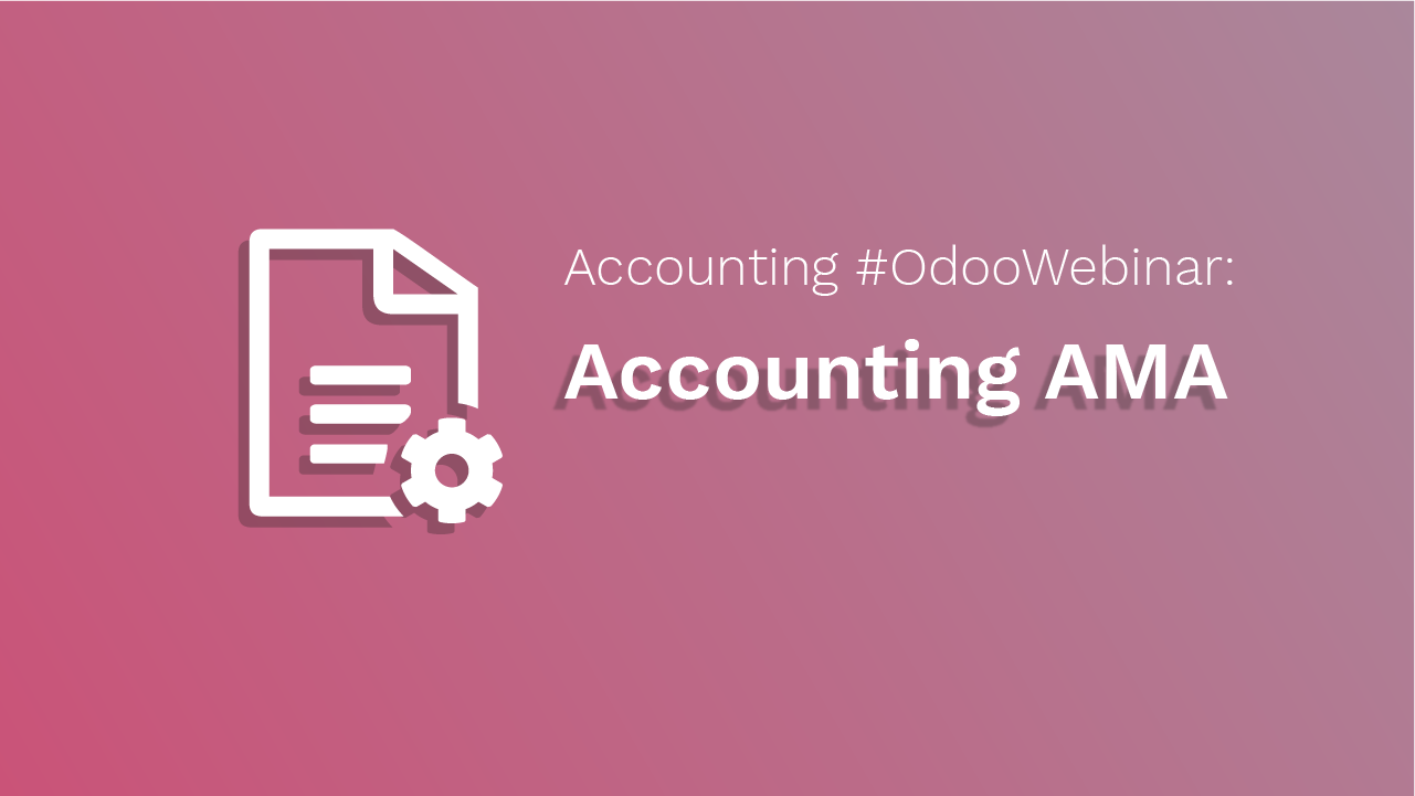 Odoo Accounting AMA