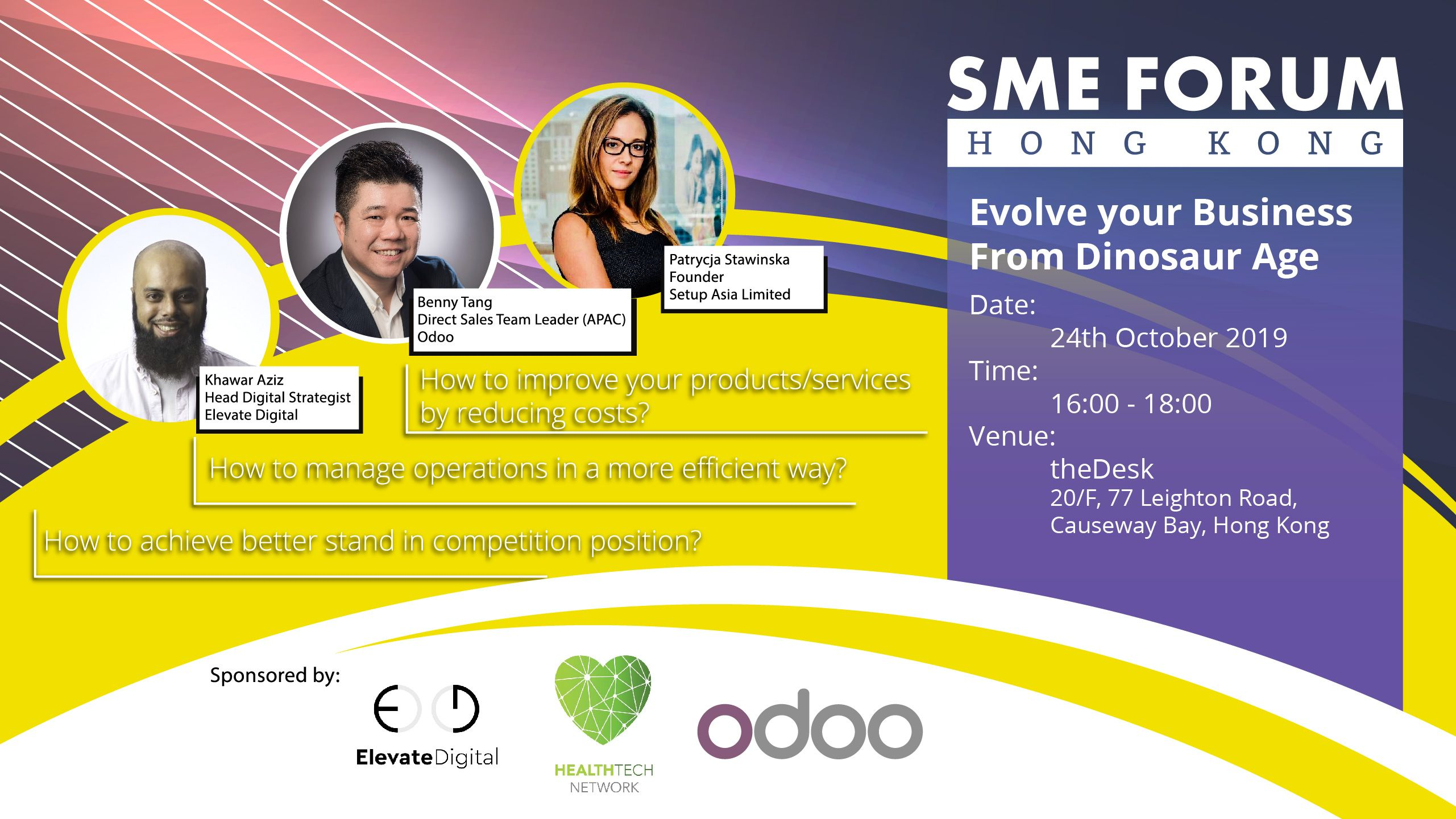 Evolve Your Business | Odoo SME Forum